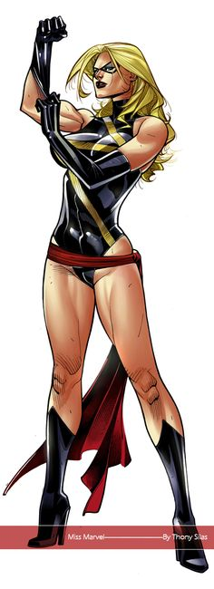 Ms Marvel by Thony Silas Auction your comics on http://www.comicbazaar.co.uk