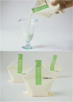Soy milk packaging