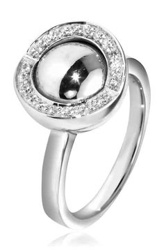Joy de la Luz | Ring cz silver/silver  €75,00