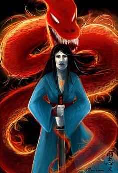 Spirit fire - Evolution by Musiriam on DeviantArt