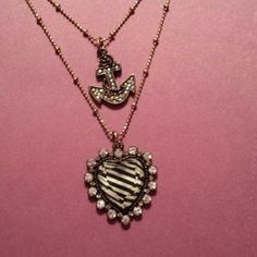 I just discovered this while shopping on Poshmark: Betsey Johnson Necklace. Check it out!  Size: OS