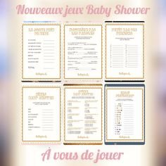 Idee Baby Shower, Unique Baby Shower, Baby Shower Parties, Gender Party, Lausanne, Gender Reveal, Emoji, Lily, Baby Shower Decorations