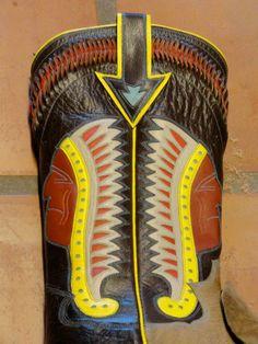 Michael Wayne Brooks Custom Cowboy Boots