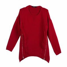 Spicy Red Knit Pullover, 35% discount @ PatPat Mom Baby Shopping App