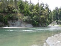 Luv swimming in this river! Humboldt County California, Northern California, Redwood Forest, Oh The Places You'll Go, Trinidad, Lakes, The Good Place, Woods, Road Trip