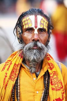 Ear-muffed Sadhu, Kathmandu | Flickr - Photo Sharing!
