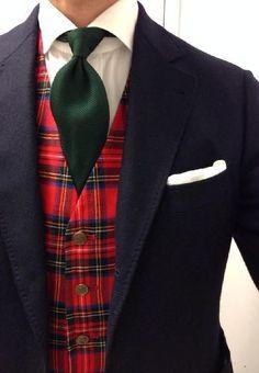 Royal Stewart waistcoat
