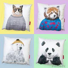 Firefox Panda cushion