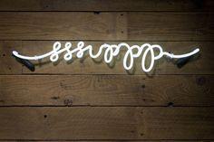 sssippp, 'sup, neon? | San Francisco Interior Designers, Bay Area Interior Designers | Champagne Cellar by Jute Interior Design, Mill Valley CA