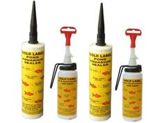 gold-label-pond-aquarium-sealer bond all the following materials:      Butyl/EPDM     Glass     Plastic     Vinyl (Surface must be roughened with scourer)     Ceramic     Stone     Concrete     Wood