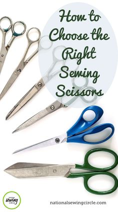 Sewers and woodworkers have one thing alike – we need the right tools for the right job. One of the most important tools for sewers that we overlook is the scissors. ZJ Humbach shows us all of the different types of sewing scissors and what each is used for – from shears for fabric cutting to snips for taking out stitching. Watch this video and find out what types of scissors you need in your sewing arsenal. Learn how to choose the right scissors today! Diy Sewing Projects, Sewing Hacks, Sewing Tutorials, Dress Tutorials, Quilt Tutorials, Sewing Tips, Sewing Ideas, Baby Bibs Patterns, Sewing Patterns