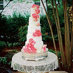 Uniquely Southern Wedding Cakes | Five-Tier Wedding Cake | SouthernLiving.com