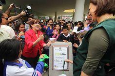 Alcaldesa Susana Villarán entregó segundo CREA en Parque Zonal Huáscar