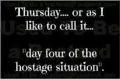 Thursday....