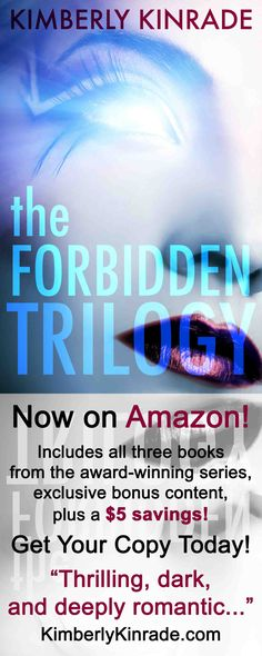 Get your copy on Amazon today and find out why critics & readers alike are calling The Forbidden Trilogy the best series since The Hunger Games... with an epic romance!