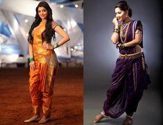 For those who don't already know, #Nauvari saree, also known as #kaashtha is a #Maharashtrian saree draping style.!!  #couponraja #theroyale #fashion #saree