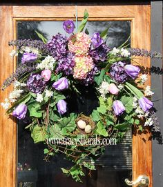 Hey, I found this really awesome Etsy listing at https://www.etsy.com/listing/184829946/spring-wreath-door-wreath-tulip-wreath