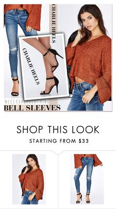 """Street Style Trend: Bell Sleeves"" by paculi ❤ liked on Polyvore featuring bellsleeves"