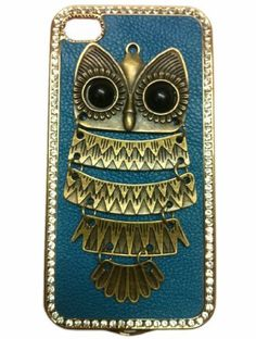 Fashion Punk Style Cell Phone Cover for iPhone 4 4S Mobile Phone Case Dark Blue with Night Owl Ornament by Westlinke. $11.66. Popular DIY Mobile Phone Protective Case for iPhone 4/4S Hard Case for iphone 4 with Real Handcraft Back Case with Studs and Spikes Decoration Punk Style Design,easy access to accessories,no need to remove case for earphone,recharge etc Actual Studs Decoration sometimes seems not so shiny like the picture shows.It is caused by autoxidati...