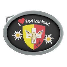 Gürtelschnalle Schweiz Suisse Svizzera Switzerland