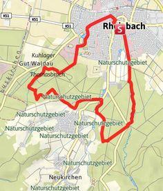 Karte / Rheinbacher-Wald-Runde