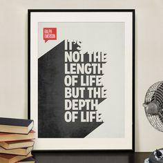 """私たちがみんな違って個性があるのと同じように、デザインもそうであるべき!  - Design Different - はあなたの心に響く様なシンプルでユニークなデザインを作ることをミッションとし、シンプルでエレガントないわゆる""""カッコイイ""""アートには留まらず、感情や感覚を最大限に意識したアートの概念を越えた作品を創出しています。   そんな - Design Different - だからこそ、あなたが気に入る作品がきっと見つかるはず!あなたの心に響く個性が名言ポスターを是非見つけてください!"""