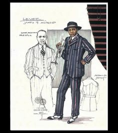 Ma Rainey's Black Bottom (Levee). Arizona Theatre Company. Costume design by Matthew J. LeFebvre. 2010