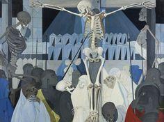 Paul Delvaux - Crucifixion (1954)