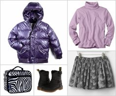 Back to school style suggestions and tips | Before you invest in a colorful coat, look at the rest of your kid's wardrobe and think about whether it all works together.