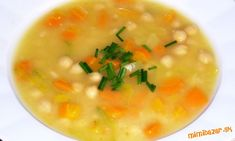 Garbanzo soup with vegetables