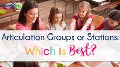 articulation groups