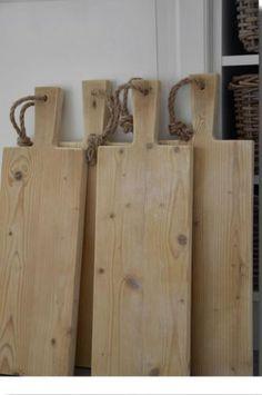 Steigerhouten Snijplanken