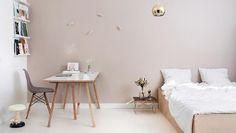 wandfarbe taupe mit einem warmen ros grund sie k nnen. Black Bedroom Furniture Sets. Home Design Ideas
