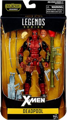 Pour Deadpool Figurine Articulée Univers X-Men Bd Séries Jouet Cadeaux Gris