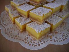 Mes carrés à la bergamote | Les Gourmandises de mamie Denise