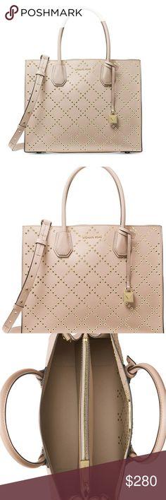 0249363fba Michael Kors Mercer Convertible Leather Handbag
