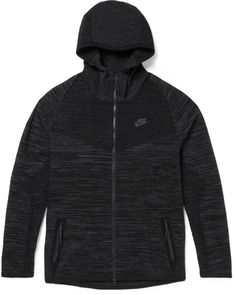 Nike Windrunner Tech Knit Zip-Up Hoodie Tapered Sweatpants 0ee5f8fd4