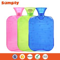 Wholesale 2 liter PVC hot water bottle with cover