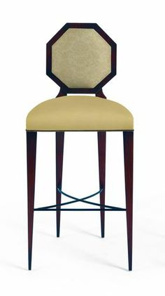 Art Deco design bar chair 60-0021 Christopher Guy Europe