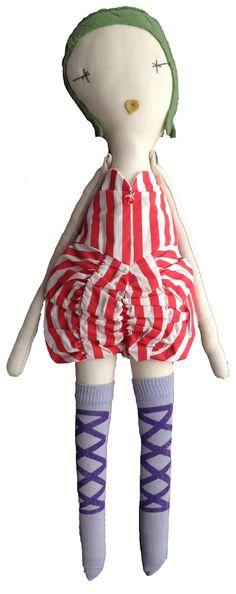 Jess Brown Wovenplay Circus Doll // poppyscloset.com