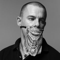 Alexander McQueen, fashion designer.
