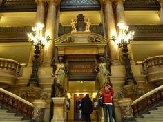 Escalier de l'Opéra Garnier - Paris