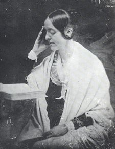 """Born on this date in 1810 (d. 1850), journalist Margaret Fuller wrote one of the key early feminist texts, """"Woman in the 19th Century."""" A strong advocate for women's education, she supported many human rights causes, and her writing may have been a partial inspiration for the Seneca Falls Convention of 1848."""