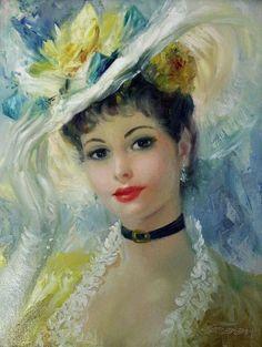 John Frederick Lloyd Strevens (1902 – 1990) – Pintor Inglês_36