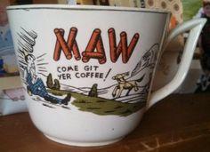 MAW Hillbilly Vintage Mug