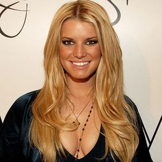 20 Beautiful Bridal Hairstyles - Jessica Simpson from #InStyle