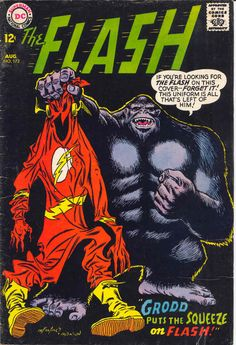 """comicbookcovers: """"The Flash #172, August 1967, Pencils: Carmine Infantino, Inks: Murphy Anderson """""""
