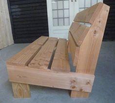 Wood Patio Furniture, Diy Outdoor Furniture, Woodworking Furniture, Backyard Seating, Outdoor Seating, Outdoor Sofa, Outdoor Decor, Gardens Of Stone, Wooden Sofa Designs