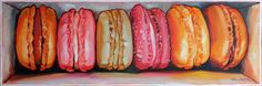 "Macarons in a box III  Oil on Canvas  36 x 12 inches  Hi I been really busy creating artworks non stop for an upcoming Solo Exhibition. It's launching on the 8th of April in Hotel Jen Penang.  My studio is a mess. Paintings are everywhere. Most of the artwork hasn't been packaged. Its kinda stressful for me seriously because right after my solo exhibition in Penang I will be opening a studio/gallery in Publika Shopping Gallery in May. -_-""  Talk about everything happening back to back. Its a…"
