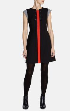 60'S inspired shift dress | Luxury Women's dresses | Karen Millen